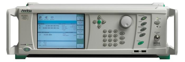 Microwave Rf Signal Generators : Rf microwave signal generators seria mg xa